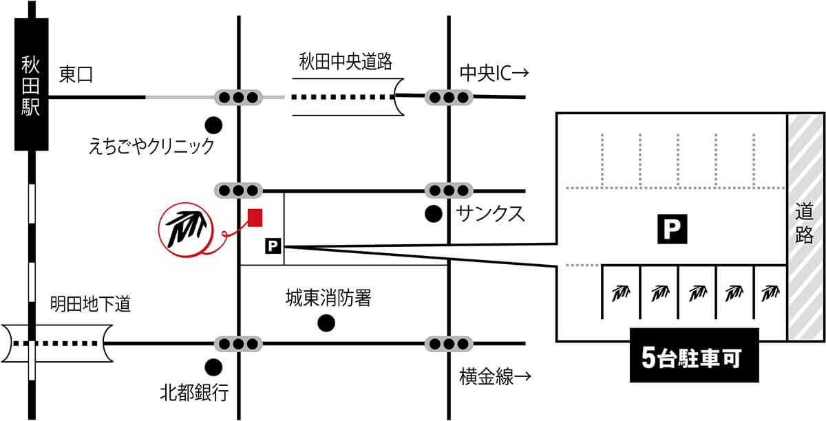 スクエア地図